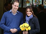 Kate and William, pictured, joined the rest of the Royal Family for a belated Christmas celebration on Boxing Day