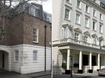 Lavish living: Belgravia is one of the capital's most exclusive neighbourhoods where properties cost more than £6million