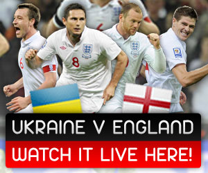Ukraine v England