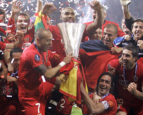 seville and uefa cup