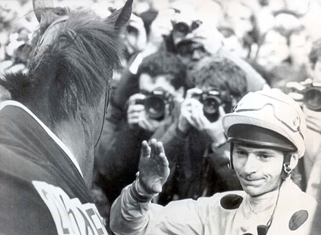 Steve Cauthen and Reference Point