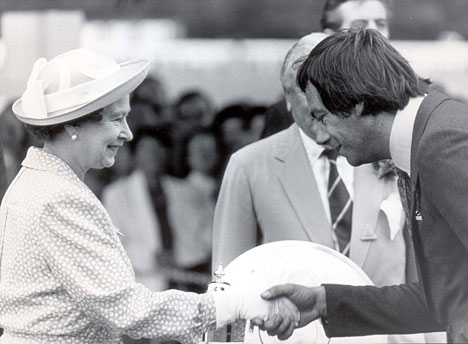 Henry Cecil and The Queen