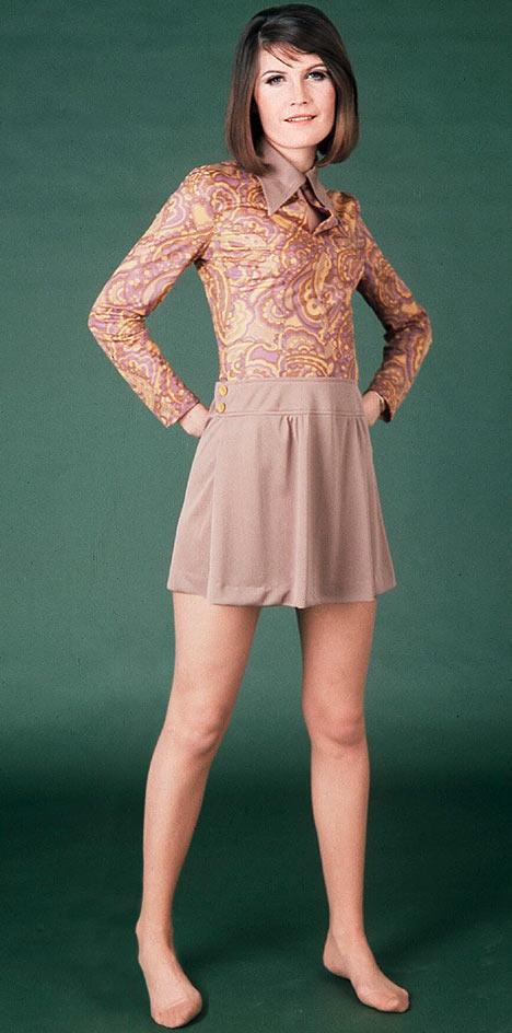 Sandie Shaw standing tall