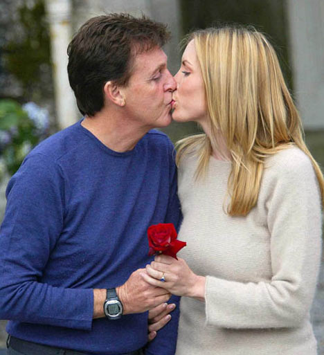 Sir Paul McCartney and Heather