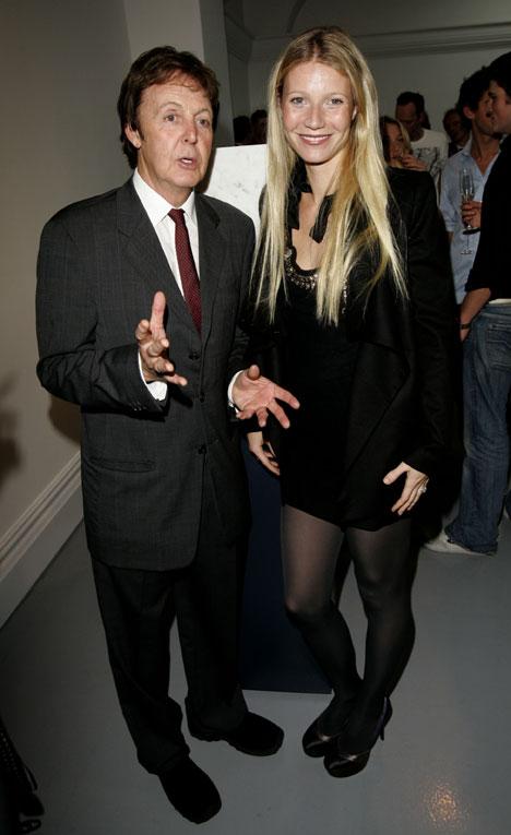 McCartney and Gwyneth Paltrow