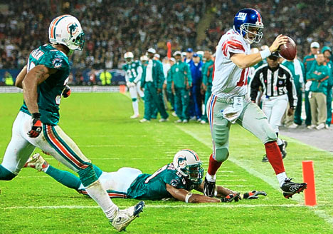 Giants Dolphins