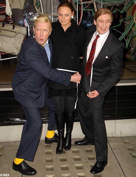 Mark Williams, Paul Whitehouse, Stella McCartney