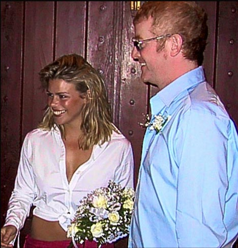 Billie Evans wedding