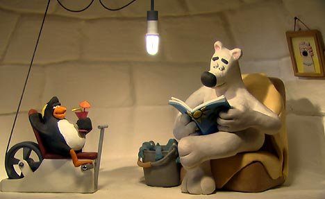 Animal Planet adverts featuring Aardman Animations