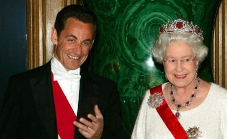 Sarkozy and the Queen