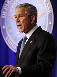 george bush iraq fifth anniversary