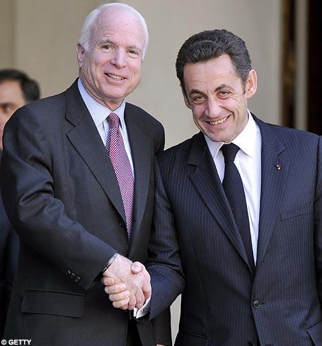 McCain and Sarkozy