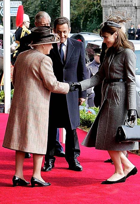 carla meets queen