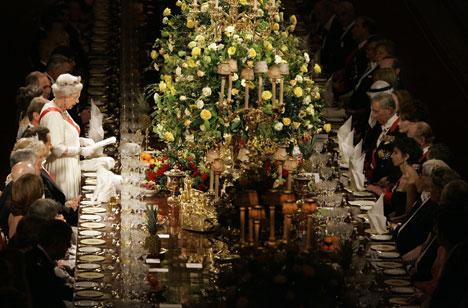 Sarkozy state banquet