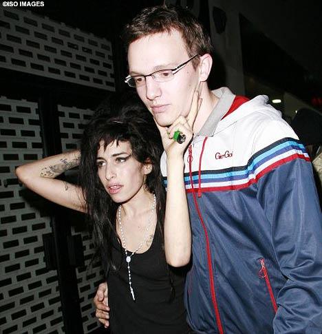 Amy Winehouse Alex Haynes 24 April 2008
