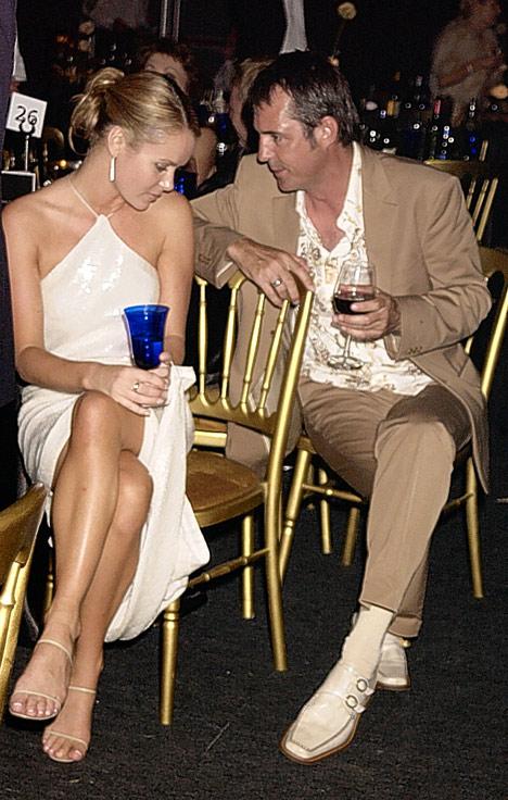 Amanda Holden with Neil Morrissey