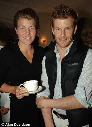 Amber Nuttall and Tom Aikens