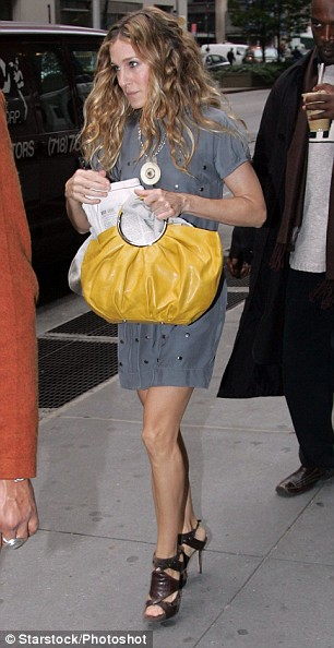 In grey, with THAT Dior bag