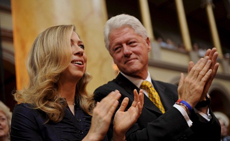 Bill Clinton and Chelsea