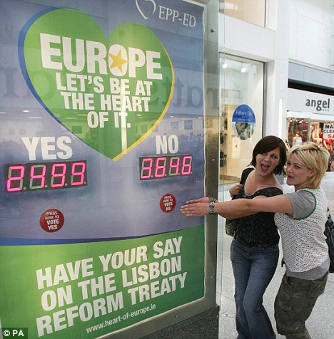 Sisters Rachel and Rhianna Stockdale give their opinion on the Euro vote