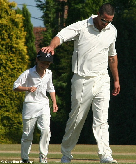 Kevin Pietersen and Piers Morgan's son Stanley