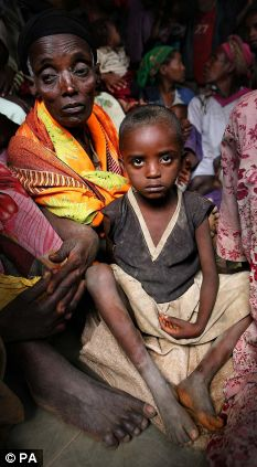 Food shortages mean starving for these Ethiopians