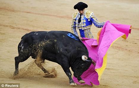 """Spanish bullfighter Manuel Jesus """"El Cid"""""""