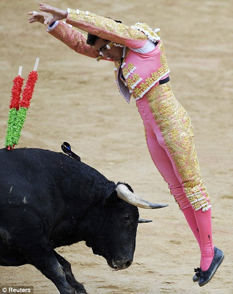 Bullfighter David Fandila 'El Fandi'