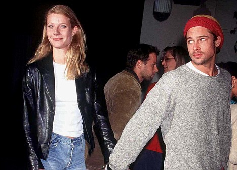 Brad Pitt Gwyneth Paltrow October 1995