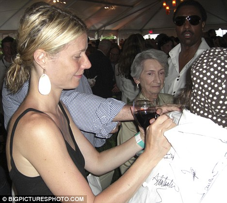 Gwyneth Paltrow Hamptons fundraiser