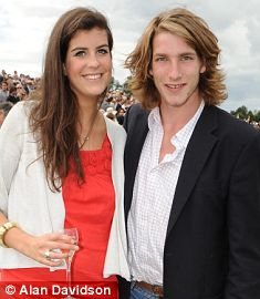 Freddie Hunt with his girlfriend Freya Samuel