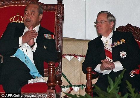 King of Tonga and Duke of Gloucester
