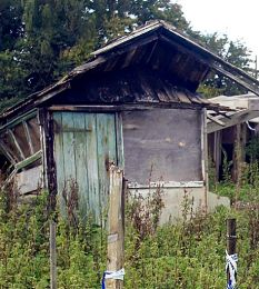 The shack that marked the spot