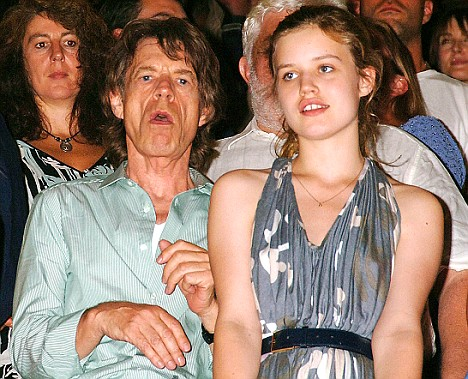 Sir Mick Jagger and Georgia: She said her father was 'not as cool as you'd think he'd be'