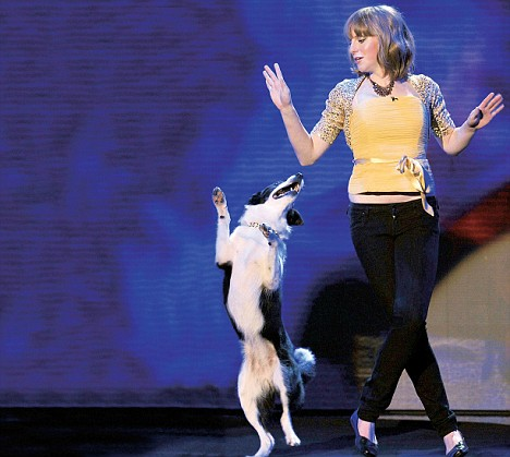 Britain's Got Talent stars Kate Nicholson and her dog Gin have put her difficult schooldays behind them and enjoyed national recognition