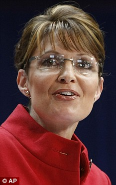 Blunder: Sarah Palin accidentally sided with Barack Obama over the issue of launching raids in Pakistan