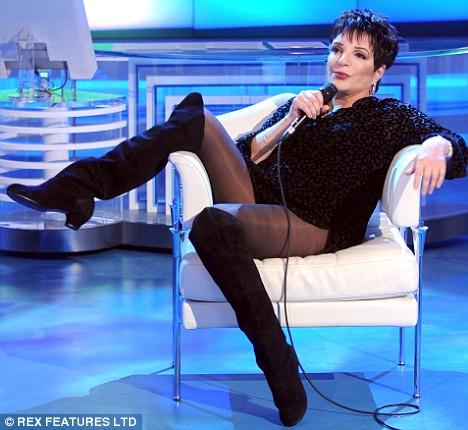 Liza Minnelli. Talk Show 'Porta a Porta', Rome, Italy - 01 Oct 2008