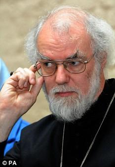 'Just and reasonable' rates of interest: Archbishop of Canterbury, Dr Rowan Williams