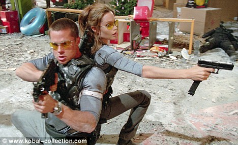 'The film in which mummy and daddy fell in love': A scene from the 2005 film Mr And Mrs Smith