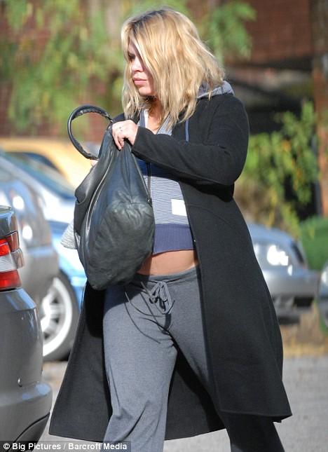 Pregnant Billie Piper