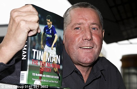 Brought to book: Ted McMinn at Ibrox launching his autobiography, in which he details his run-ins with Souness, culminating in his departure to Sevilla