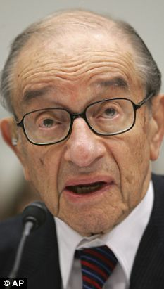 'Once in a century credit tsunami': Alan Greenspan describing the financial crisis to Congress in Washington today