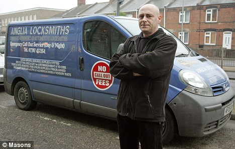 Mark Ward, Owner of Anglia Locksmiths i