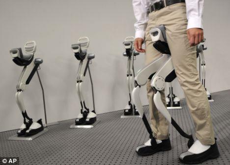 Honda's walking device