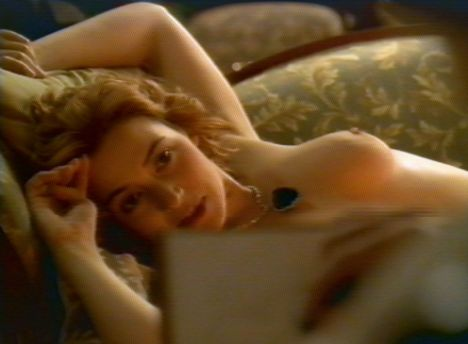Winslet stripped off for her part as Rose DeWitt Bukater in the 1997 blockbuster Titanic when she was 22 years old
