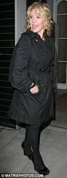Lulu leaving Stella McCartney