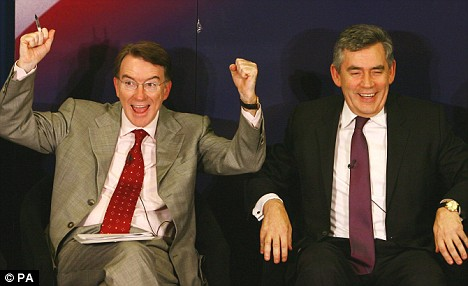 Gordon Brown and Peter Mandelson