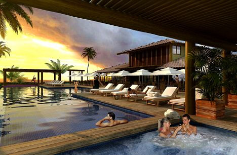 Natal Ocean Club: A scheme of apartments and villas in 20 acres of tropical gardens