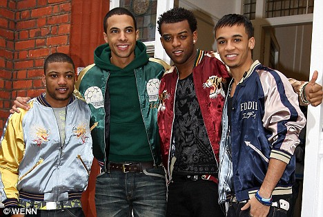Early favourites: The judges told JLS they stood a great chance of winning the competition right from the early stages