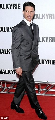 Tom Cruise attends the world premiere of Valkyrie in New York